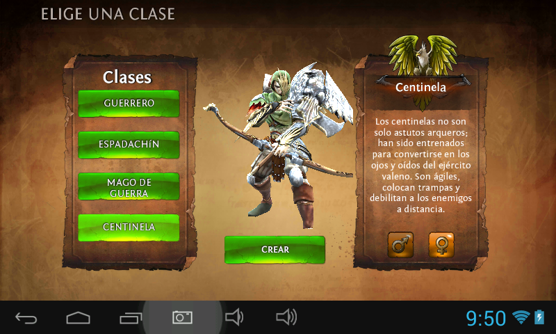 Dungeon Hunter Centinela Hombre
