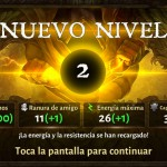 Dungeon Hunter V subir de nivel