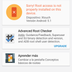 Resultado root checker