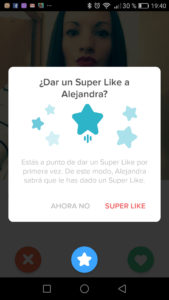 tinder super like