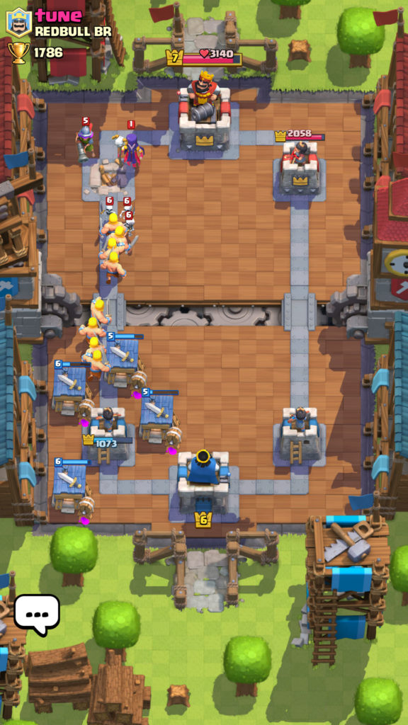 Clash Royale ataque
