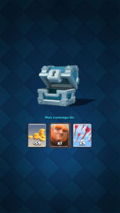 Clash Royale recompensas cofre