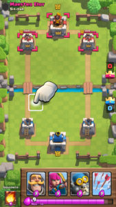 Clash Royale sacar carta